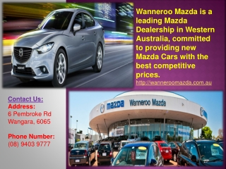 New or Used Mazda Cars