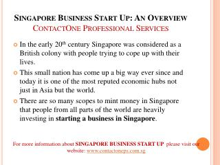 Singapore Taxation Services