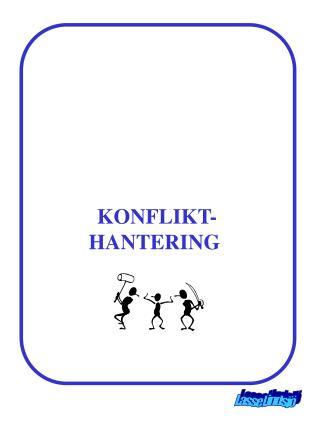 KONFLIKT-HANTERING