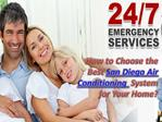 How to Choose the Best San Diego Air Conditioning  System fo
