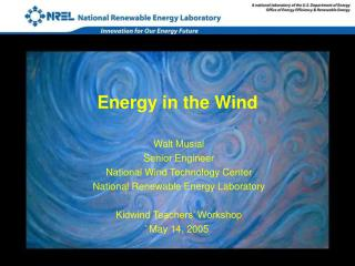 Energy in the Wind