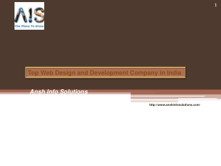 Top Web Design and Development Company in India