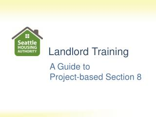 A Guide to  Project-based Section 8
