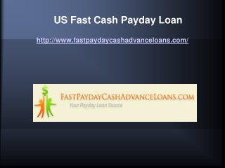 Us Fast Cash Payday Loans