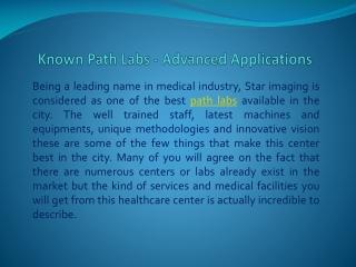 Path Labs