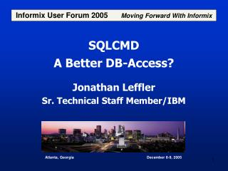 SQLCMD A Better DB-Access?