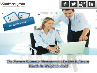 Human Resource Management Solutions Critical For Any Organiz