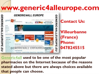 Generic4all Review - Generic4all Europe