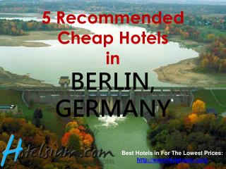 5 Recommended Cheap Hotels in Berlin