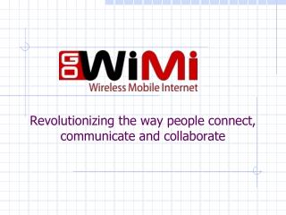 GoWiMi - Wireless Mobile Internet