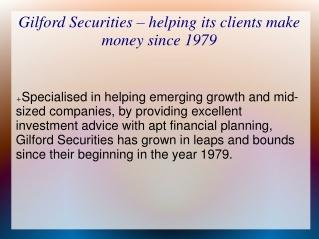 Gilford Securities