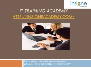 IT Training academy