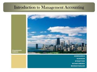 Introduction to Management Accounting