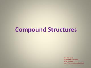 Compound Structures