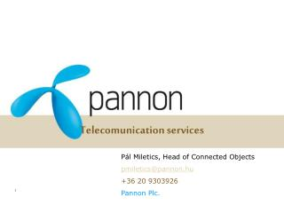 Telecomunication services