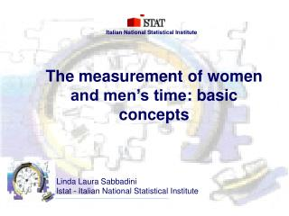 The measurement of women and men s time: basic concepts