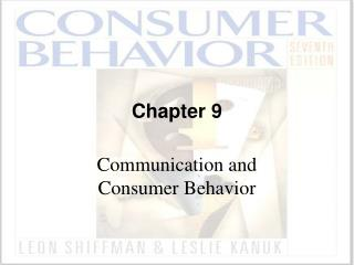 Communication and Consumer Behavior