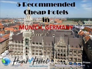 Munich - 5 Recommended Cheap Hotels