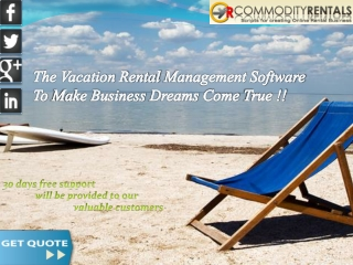 The Vacation Rental Management Software To Make Business Dre