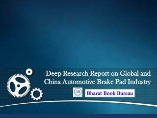 "Bharat Book Presents""2013 Deep Research Report on Global and"