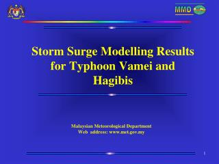 Storm Surge Modelling Results for Typhoon Vamei and Hagibis