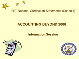 ACCOUNTING BEYOND 2006
