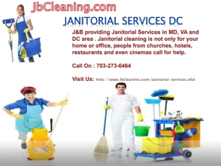 Janitorial services In DC