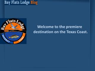 Bay Flats Lodge Blog - Information on Duck Hunting & Fishing
