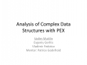 Analysis of Complex Data Structures with PEX