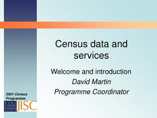 Census data and services