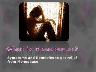 A Guide To Menopause