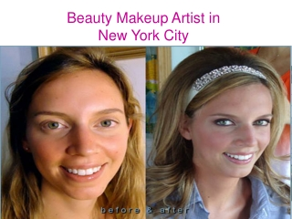 Beauty Makeup Artist in New York City