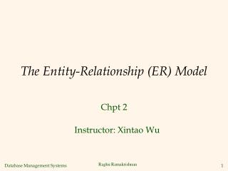 The Entity-Relationship ER Model