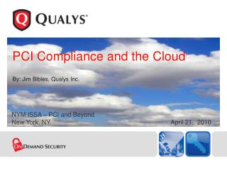 PCI Compliance and the Cloud
