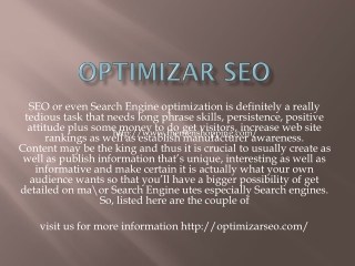 Optimizar seo