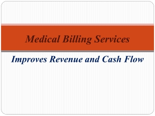 Medical Billing Service-Improves Revenue and Cash FlowMedica