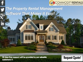 The Property Rental Management Software That Makes It Easy!