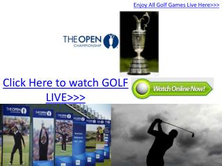 british open championship 2011 live stream online hd!! day-3