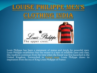 Louis Philippe Shirts India Stores near you