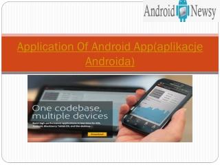 nowości Androidzie