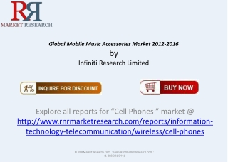 Global Mobile Music Accessories Market 2012-2016
