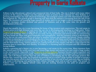 property in Garia Kolkata