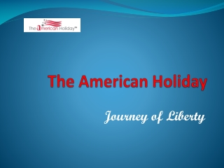 The American Holiday