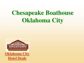 Oklahoma City Hotels - The Bricktown Hotel in Oklahoma City