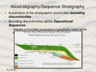 Allostratigraphy/Sequence Stratigraphy