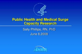 Public Health and Medical Surge Capacity Research