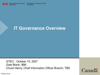 IT Governance Overview