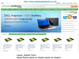 Aspire One D260 Battery and Adapte