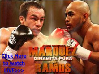 juan manuel marquez vs likar ramos live hd!! top rank ppv