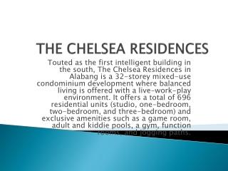 THE CHELSEA RESIDENCES